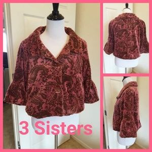 3 SISTERS CROPPED PEACOAT